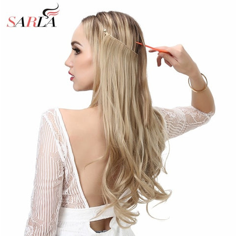 "Halo Invisible Hair Extensions/Ombre/Bayalage 14"" 16"" 18"""