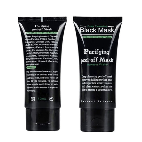Deep Cleansing Black Mask Purifying Peel-Off Mask