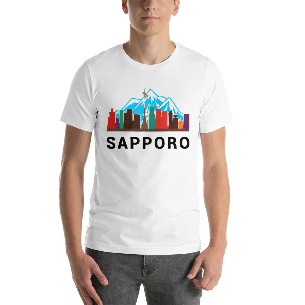Sapporo Snow Color Short-Sleeve T-Shirt