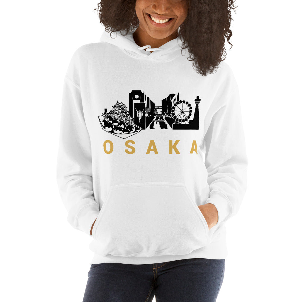 Limited Edition Osaka City Hooded Sweatshirt