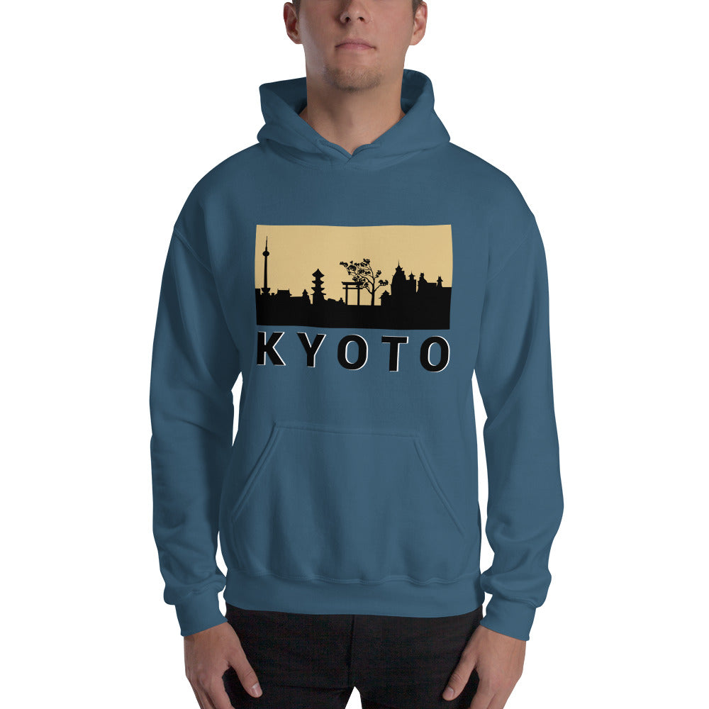 Kyoto Limited edition Gold city Hooded Sweatshirt