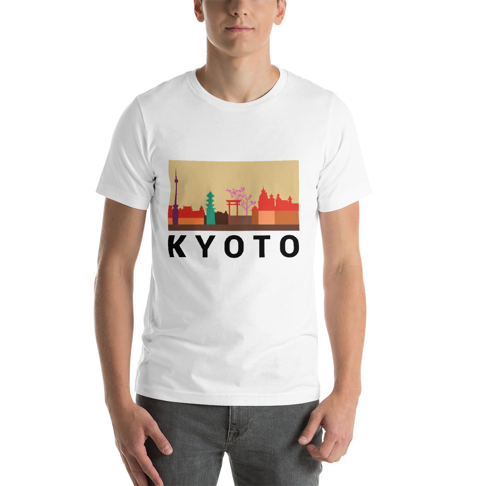 Kyoto City Color Short-Sleeve T-Shirt