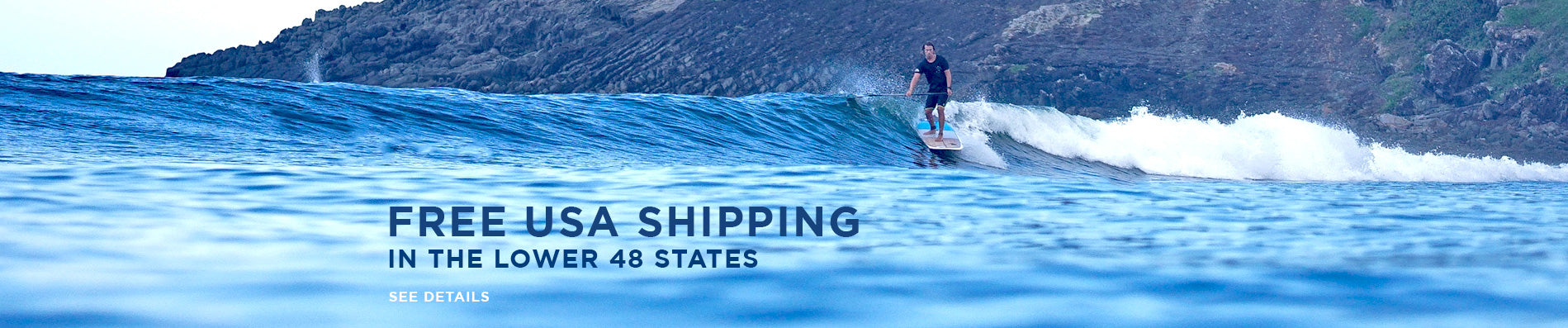 Free USA shipping in the lower 48 states
