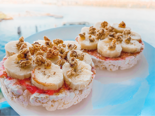 Nut Butter & Banana Rice Cakes