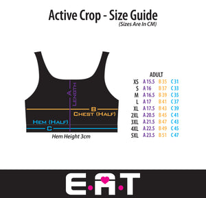 Feather - Breastfeeding / Nursing Active & Swim Crop