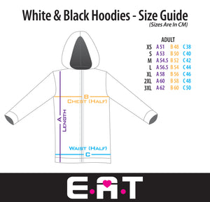ActiveHood white (Sizes: XS - XXXL)