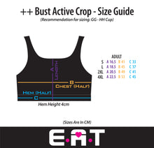 Feather ++ BUST - Breastfeeding / Nursing Active & Swim Crop