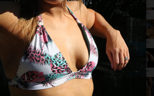 Feather SwimBikini (Sizes: XS - XL)