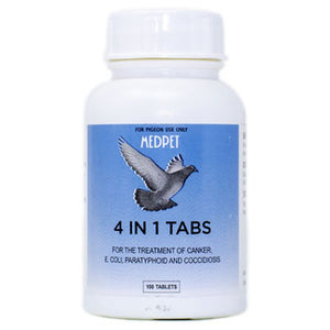 4 in 1 Tablets for Pigeons
