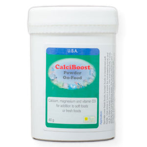 CalciBoost On Food Powder calcium supplement with Vitamin D3 40 gram size