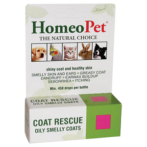 Coat Rescue for oily and smelly feathers