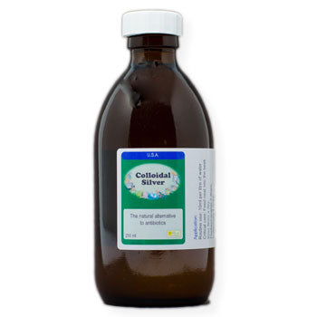 Colloidal Silver the natural alternative to antibiotics 250 ml size