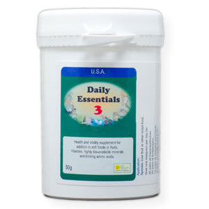 Daily Essentials 3 daily vitamins for Birds 50 gram size
