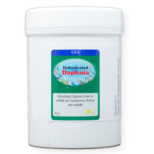 Dehydrated Daphnia for insect eating Birds 40 gram size