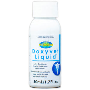 Doxyvet Liquid doxycycline for pets 50ml