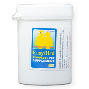 EasyBird Complete Pet Supplement one easy to use mixture of the needed supplements for Birds 100 gram size