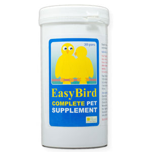 EasyBird Complete Pet Supplement one easy to use mixture of the needed supplements for Birds 300 gram size
