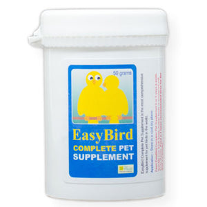 EasyBird Complete Pet Supplement one easy to use mixture of the needed supplements for Birds 50 gram size
