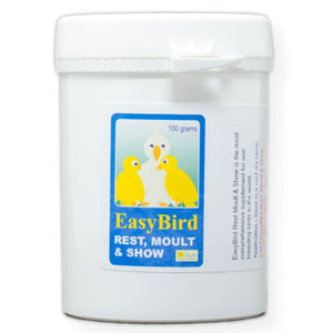 EasyBird Rest, Moult & Show to make your Birds Moult easier 100 gram size