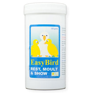 EasyBird Rest, Moult & Show to make your Birds Moult easier 300 gram size