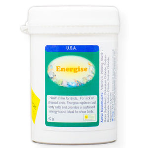 Energise health drink for Birds also when sick or stressed 40 gram size