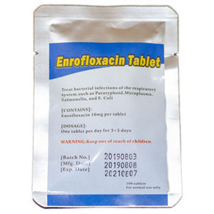 Enrofloxacin 10 mg tablets