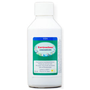 Enviroclens a broad spectrum disinfectant to protect your Birds and you 100ml size