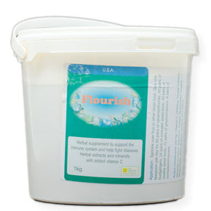 Flourish for Birds an herbal supplement to support the immune system 1 kilogram size