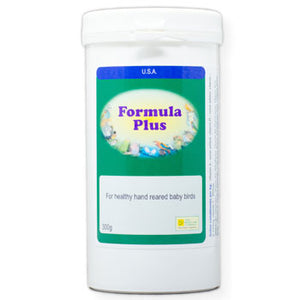 Formula Plus for baby Birds to supplement their hand-feeding formula 300 gram size