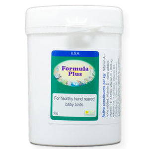 Formula Plus for baby Birds to supplement their hand-feeding formula 90 gram size