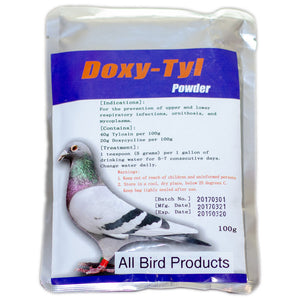 Doxycycline and Tylosin powder for birds