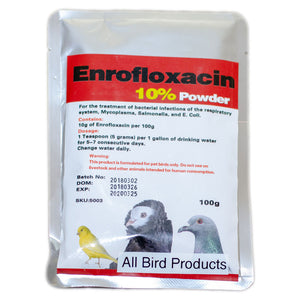 Enrofloxacin 10% Powder for birds