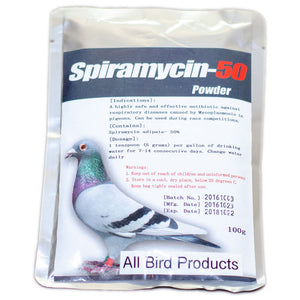 Spiramycin-50 Powder Generic for birds