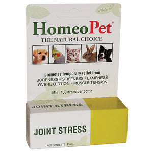 Joint stress for arthritis or general pains for birds