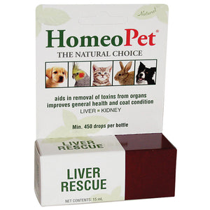 Liver healing supplement for birds