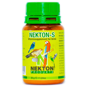 Multi-vitamin supplement enriched with amino acids and trace elements for all cage birds