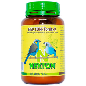High-grade tonic individually attuned to the needs seed-eating birds.