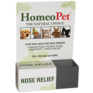 Nose relief and other respiratory problems in birds