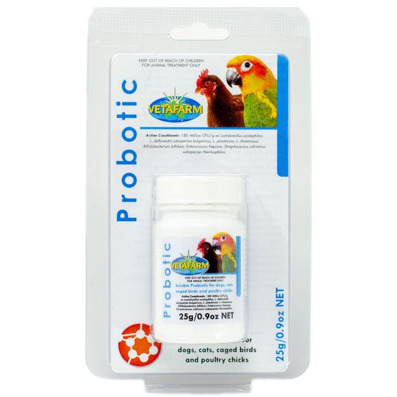 Probotic good bacteria for digestive health for your bird 25g