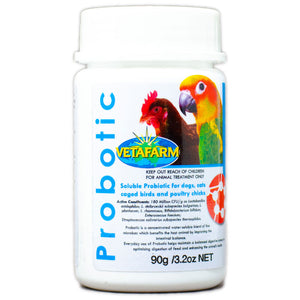 Probotic good bacteria for digestive health for your bird 90g