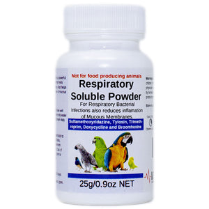 Respiratory Soluble Powder for Birds