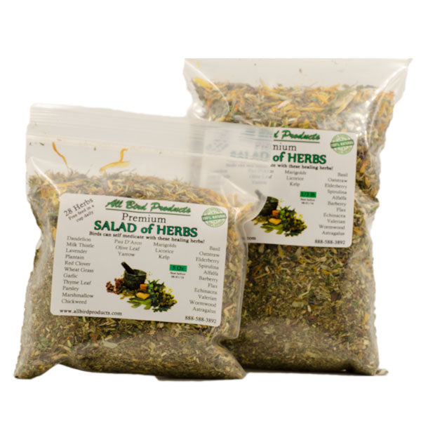 Salad Of Herbs 100% Organic Human Grade Herbs for Herb Salad