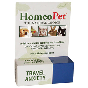 Travel Anxiety relief stress caused from taking your pet places