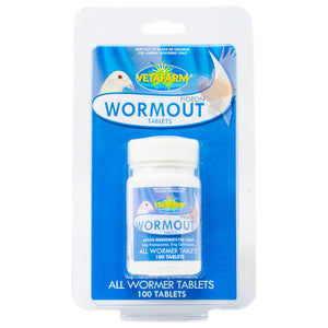 Pigeon Wormout tablets 100