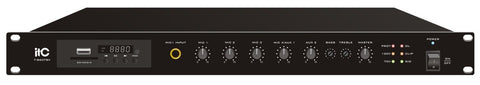AM-1200BT Sion Amplificador de Audio Mixer, Bluetooth, Radio, USB - Comercial - klibtech