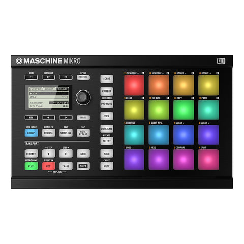 Maschine Mikro MK2 Native Instruments Controlador de Audio - klibtech