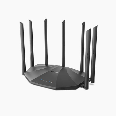 Tenda AC23 Router Wifi GAMER Dual Band AC2100 - Redes - Klibtech - Tenda AC23 Router Wifi GAMER Dual Band AC2100 - Redes