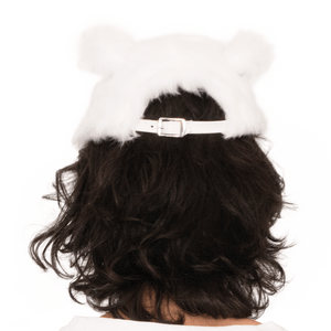 Back of Bunny Hat