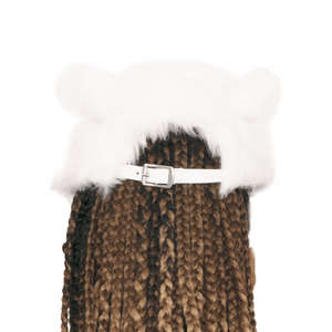 Back of Women's Bunny Hat