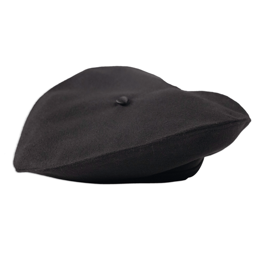 Black French Beret